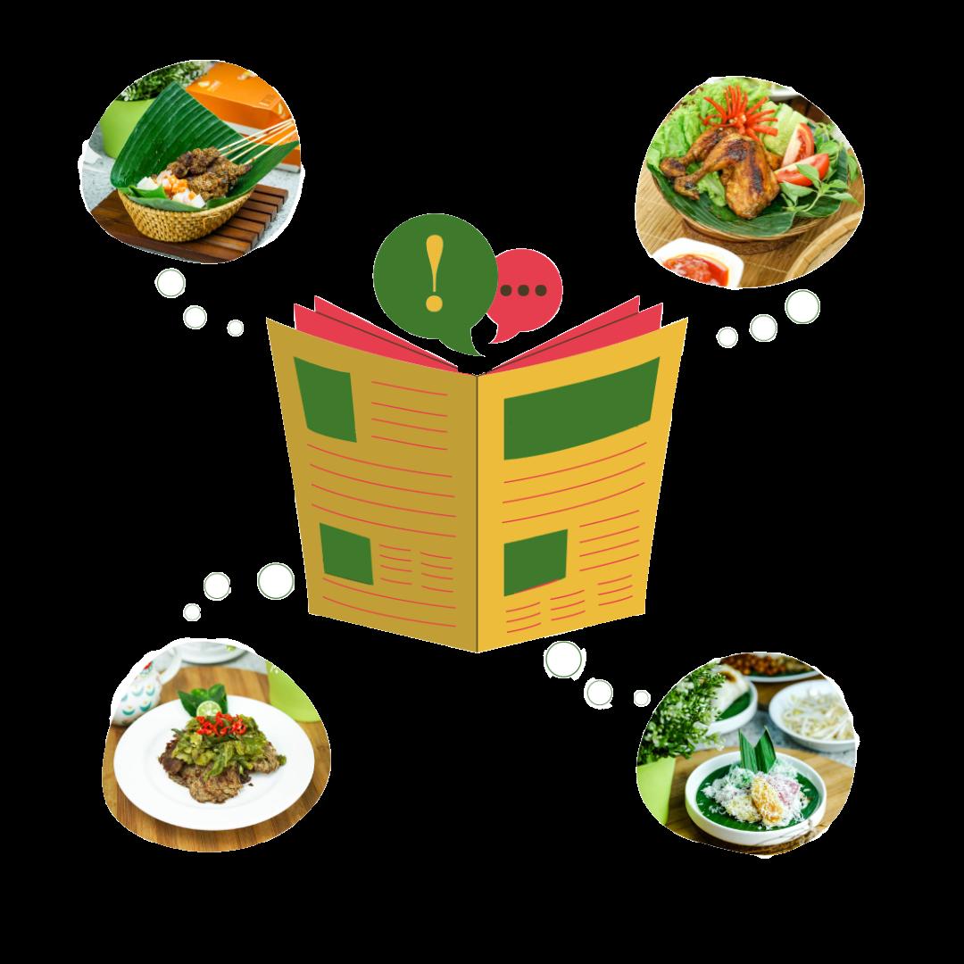 wisata kuliner bersama MyMeal Catering, dapatkan free daily journal