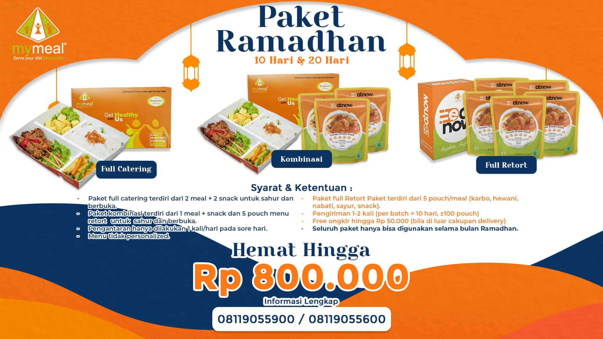 Paket Catering Ramadhan - MyMeal Catering