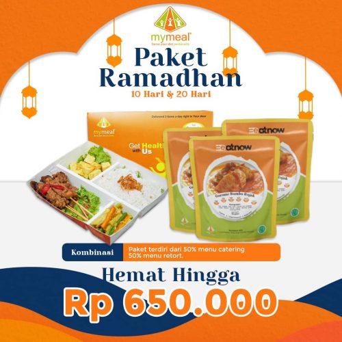 Paket Catering Ramadhan Kombinasi - MyMeal Catering